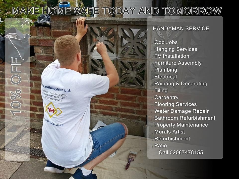 Handyman in Wandsworth - YoursHandyMan Team